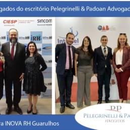 Dra. Ivany Tavares, Dr. Jacksom Gomes, Dra. Bia Costacurta e Dr. Dennis Pelegrinelli na Feira/Congresso Inova RH 2019.